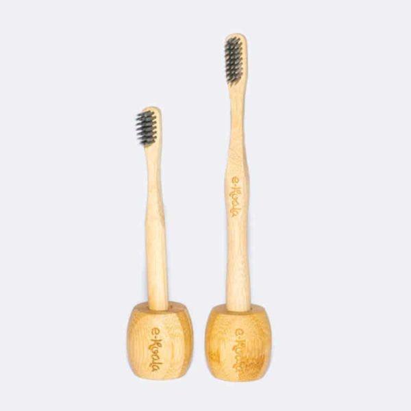 Cepillo de dientes más soporte